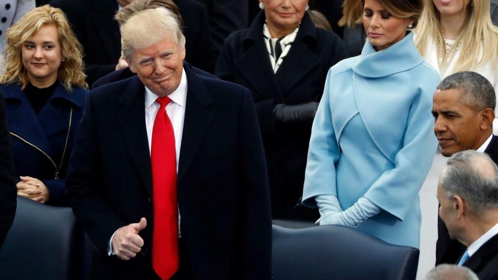 Donald Trump toma posesión como presidente de EEUU