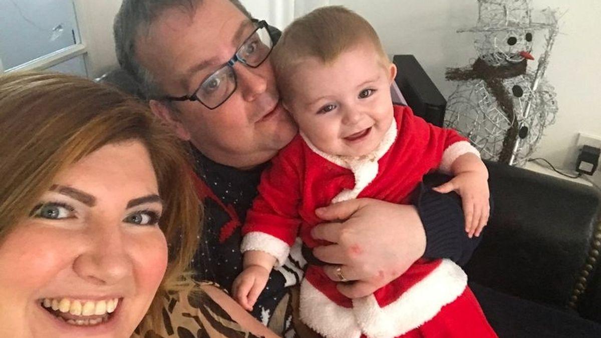Familia del bebé con cáncer salvado