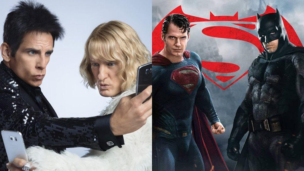 'Zoolander 2' y 'Batman v Superman' copan las nominaciones a los Razzies 2017