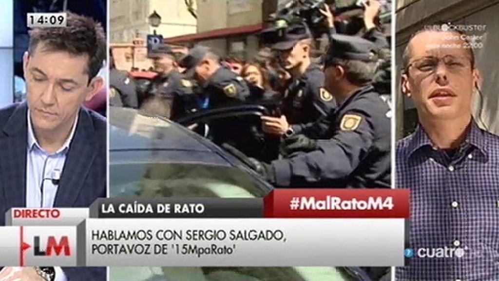 """Sergio Salgado: """"Si esperan que utilizando como chivo expiatorio se pueda cerrar esto en falso, están equivocados"""""""
