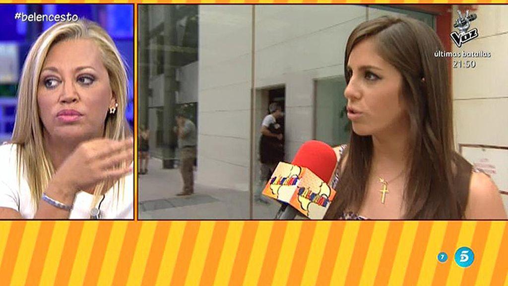 """Anabel Pantoja, de Belén Esteban: """"Quiero que los whatsapps se queden en el móvil"""""""