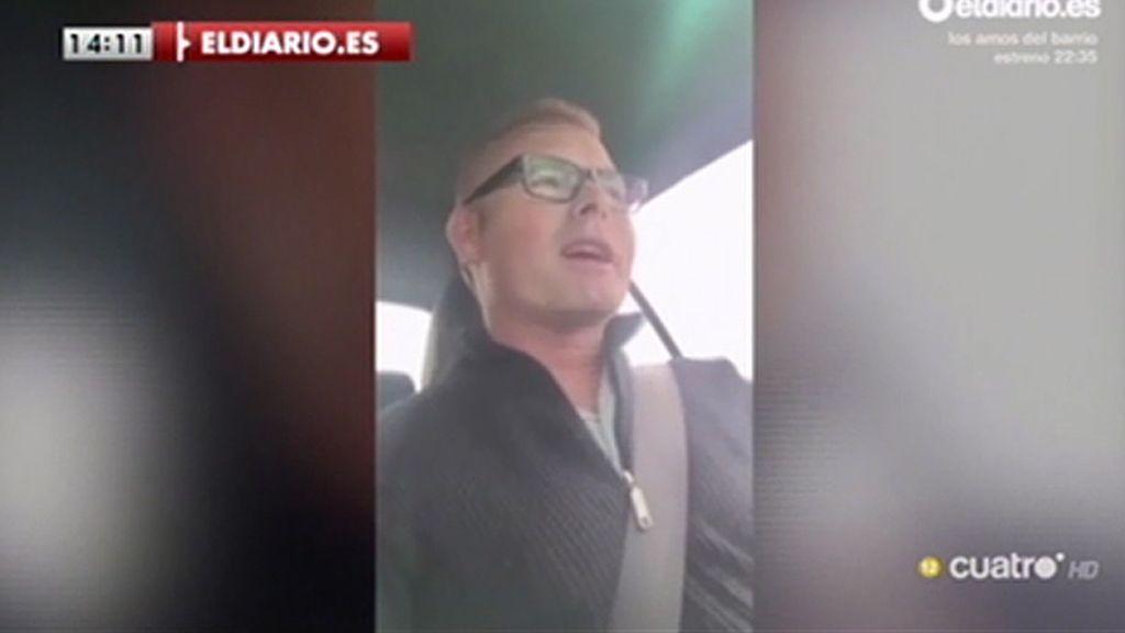 Un político del PP de Córdoba graba un vídeo de campaña conduciendo