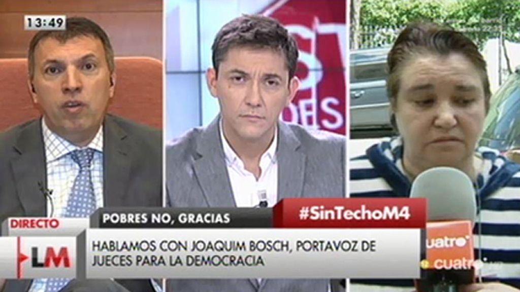 """Joaquín Bosch: """"En España no se están adoptando medidas de protección social"""""""