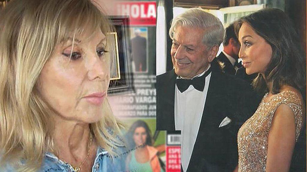 """Pylar Eyre, sobre Isabel Preysler y Vargas Llosa: """"Es una relación absolutamente cierta"""""""
