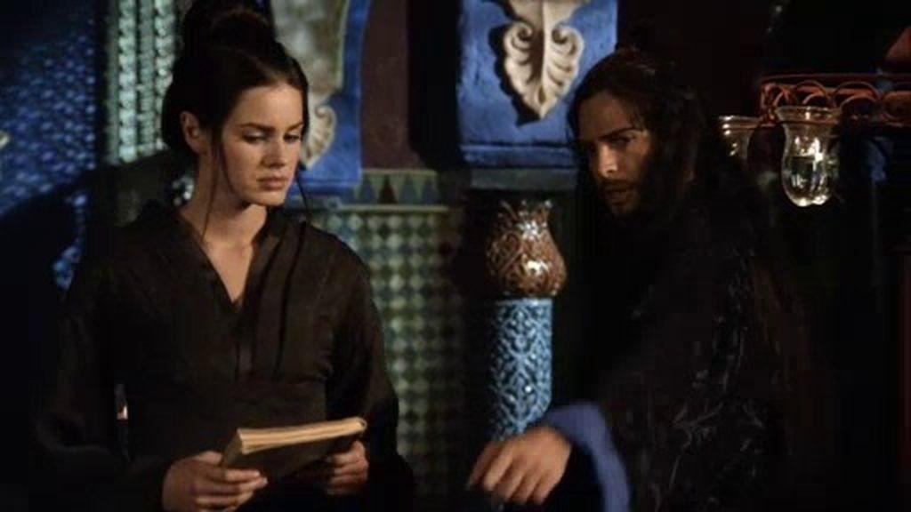 Sherezade se reencuentra con Aladino en el castillo de la malvada maga Namuna