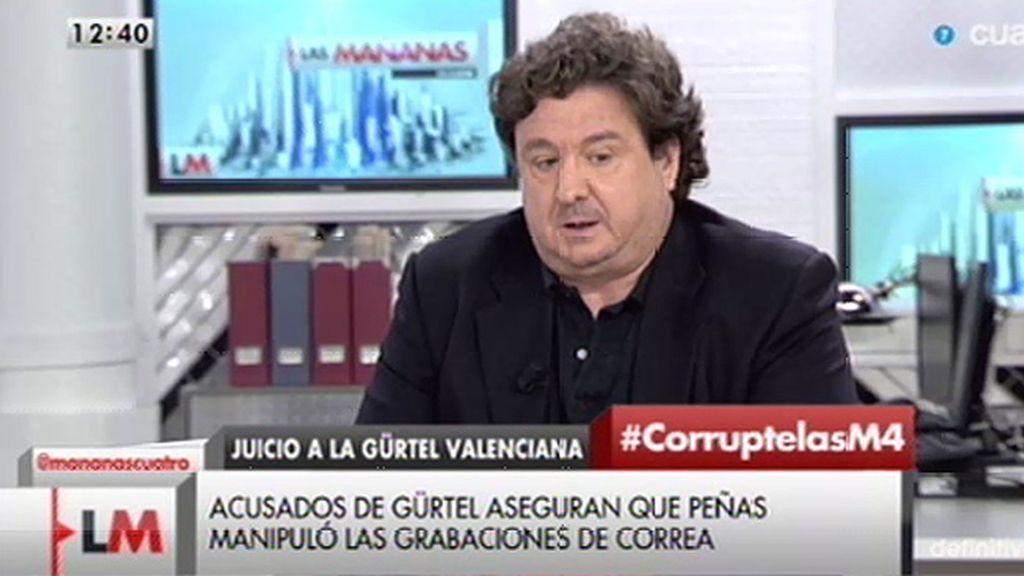 """José Luis Peñas, autor de las grabaciones de la Gürtel: """"En el PP no me quisieron recibir, no quisieron hablar conmigo"""""""