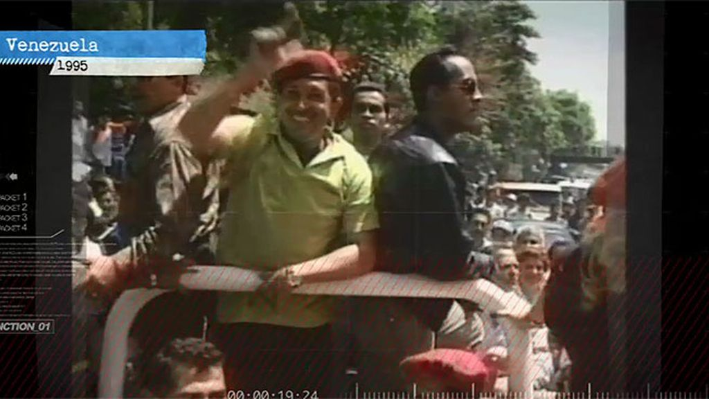 Hugo Chávez cautivó al pueblo