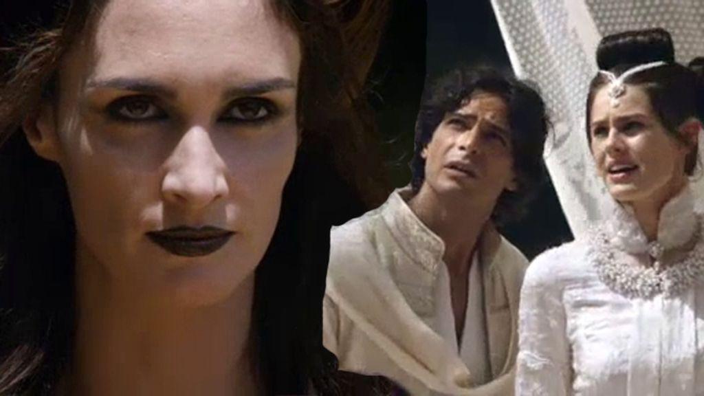 Namuna  interrumpe la boda de Aladino y Sherezade para separarles por siempre