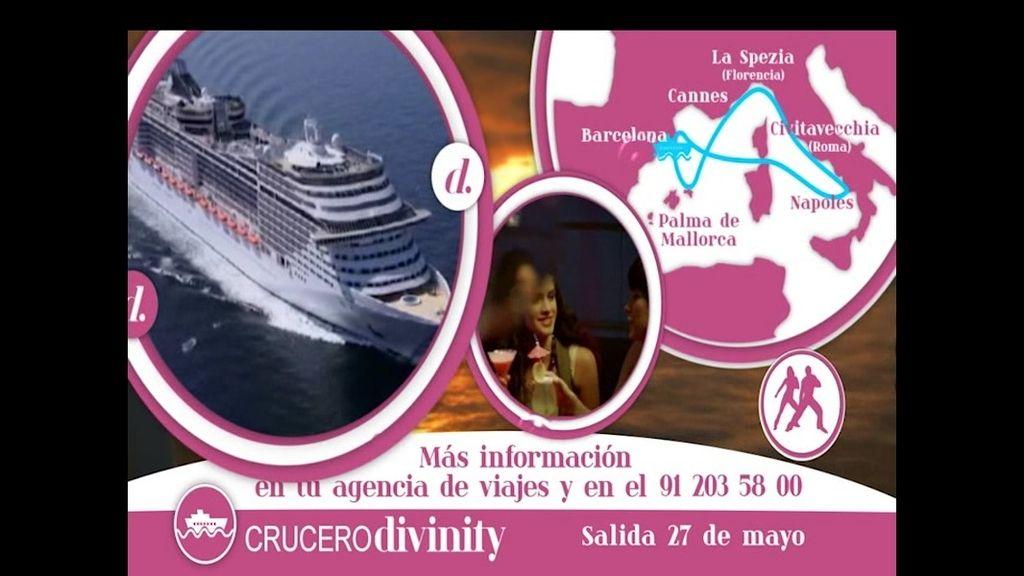 ¿Quieres disfrutar del crucero más Divinity? Date un capricho y resérvalo ya