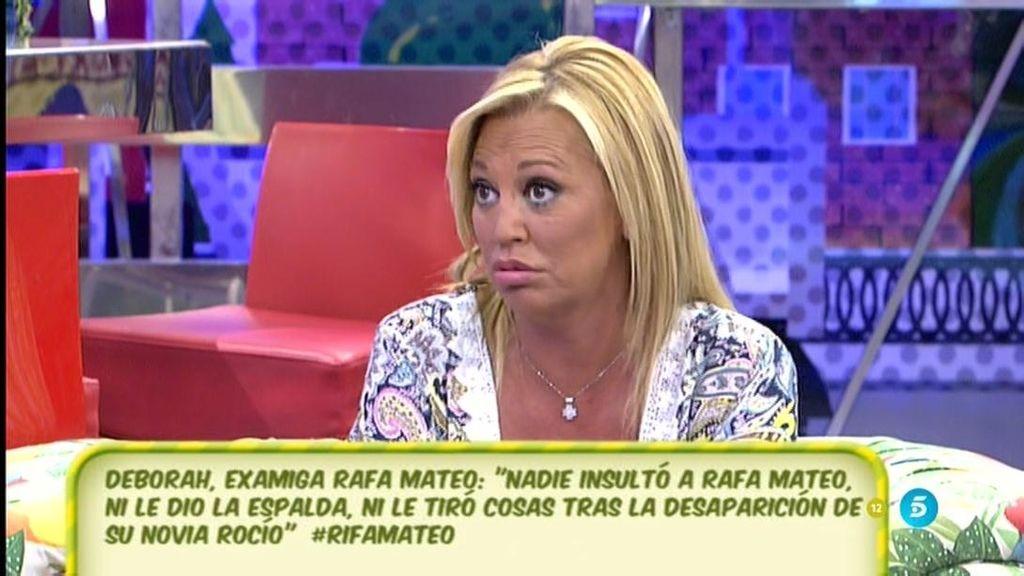 """Belén: """"Los padres de la difunta Rocío sintieron asco al ver a R. Mateo en televisión"""""""