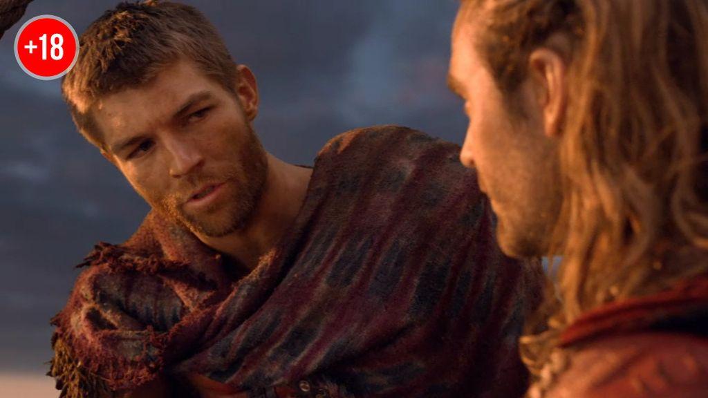 """Espartaco piensa en Gannicus como su sucesor: """"Si alguna vez yo callera…"""""""