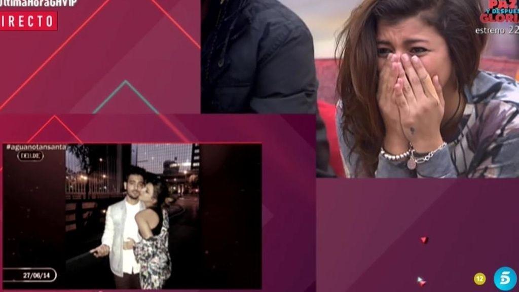Aguasantas se derrumba viendo a Raquel Bollo en su vídeo de presentación