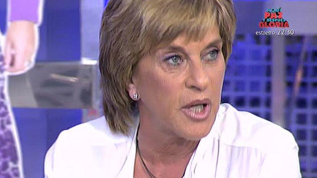 Pantoja ofreció a Cayetano las cosas de su padre a través de Eva González, según Chelo Gª Cortés