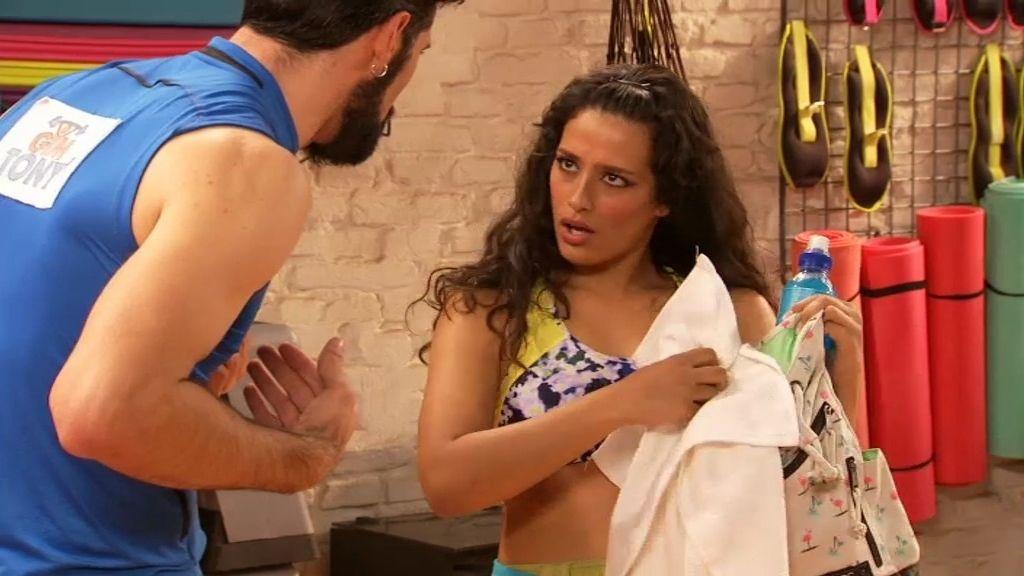 Deisy llega al 'Gym Tony' dispuesta a revolucionar las clases de Zumba