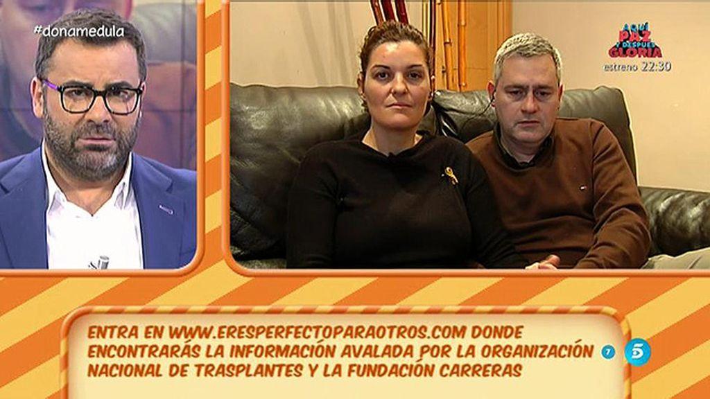 """Montse y Miguel Ángel: """"Seguimos buscando donante"""""""