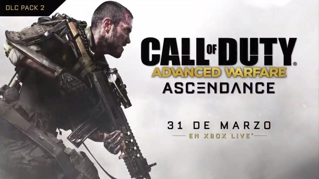 Aquí está el tráiler de Ascendance, el nuevo DLC para Call of Duty: Advanced Warfare