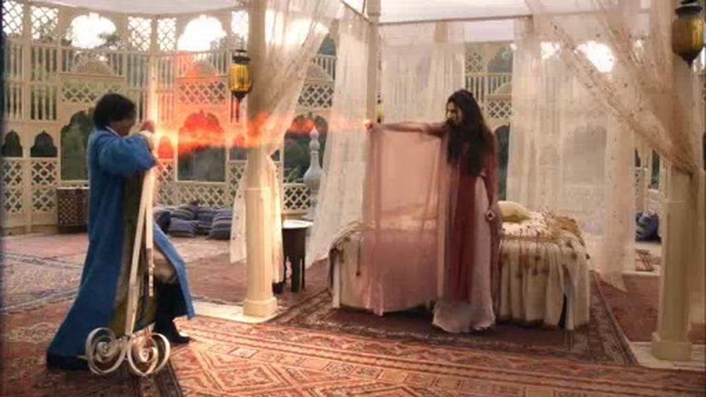 Aladino y el Genio de Abacur ingenian un plan para acabar con Namuna