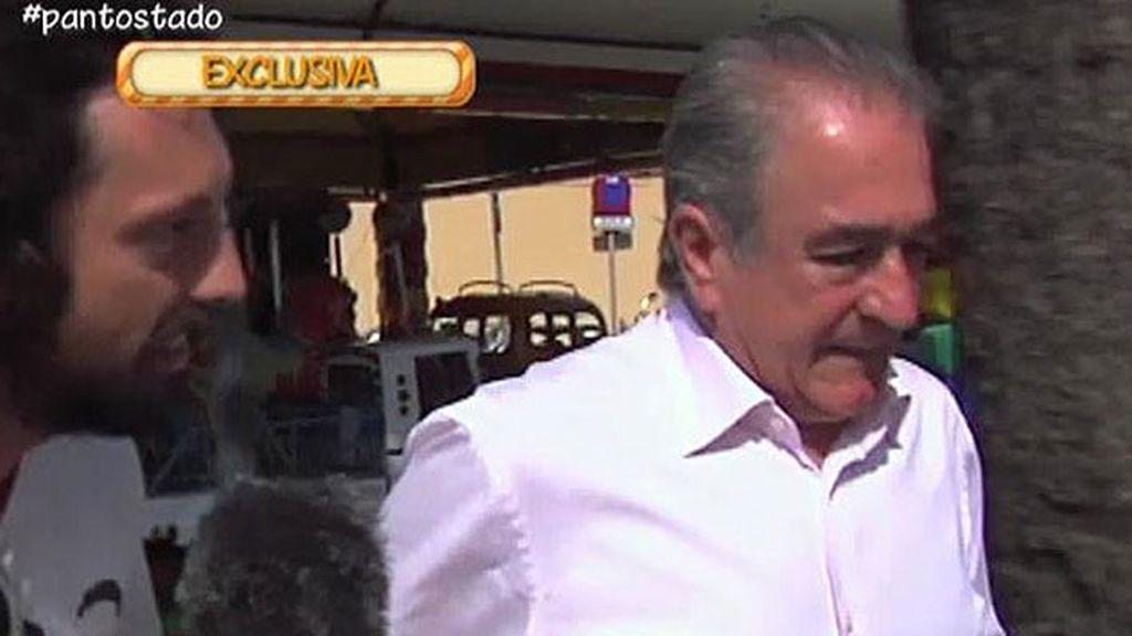 Bernardo Pantoja guarda silencio