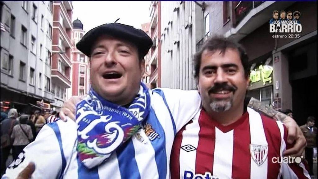 El derbi vasco, un ejemplo de civismo para el mundo del fútbol, acabó en tablas (1-1)
