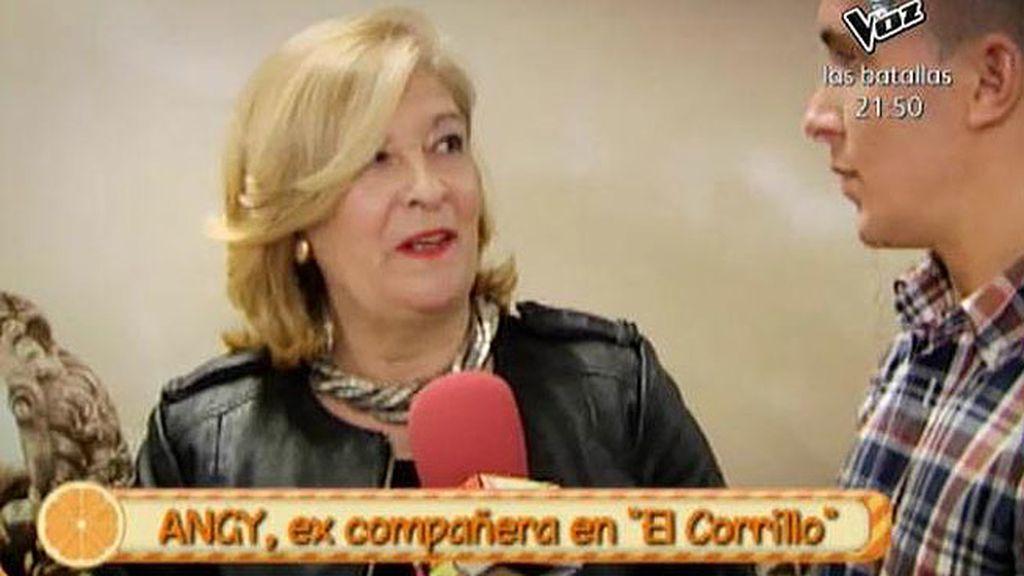 """Angy, del """"corrillo"""" de María Teresa: """"Kiko Hernández y yo tuvimos un tonteo"""""""