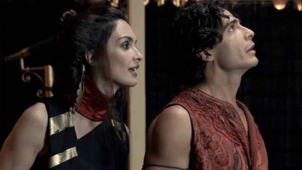 La malvada Namuna persuade a Aladino