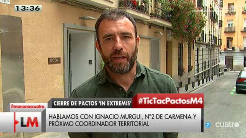 """Nacho Murgui: """"No hay riesgo alguno de Tamayazo"""""""