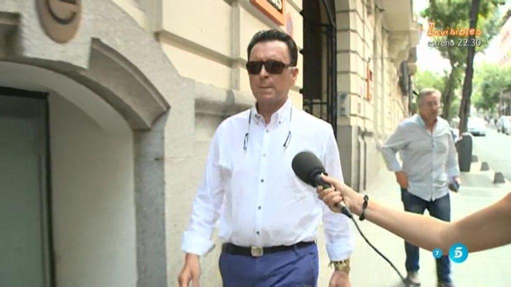 """Ortega Cano, sobre su encuentro con Rosa: """"Hay que llevarse bien con todo el mundo"""""""
