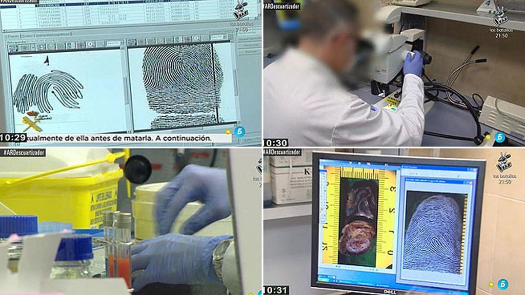 ¿Cómo obtienen los investigadores las huellas de los indicios incautados?