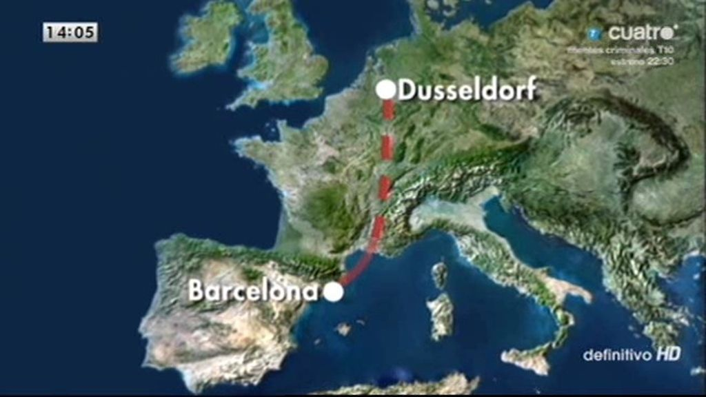 Cronología del accidente de Germanwings