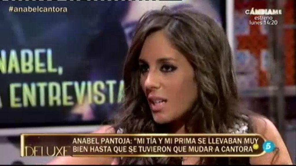 """Anabel Pantoja: """"La relación entre mi tía y mi prima siempre ha sido buena, lo normal"""""""
