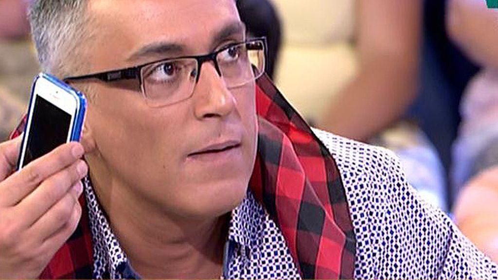 Kiko Hernández afirma haber escuchado a la hija de Chiquetete criticando a Gahona