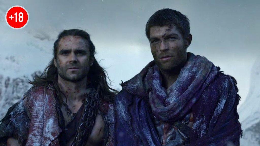 Espartaco se refugia en las montañas a la espera de la venganza final