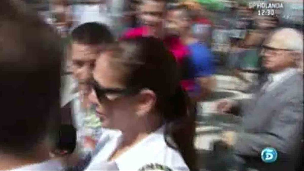 Isabel Pantoja ha abandonado la Audiencia de Málaga