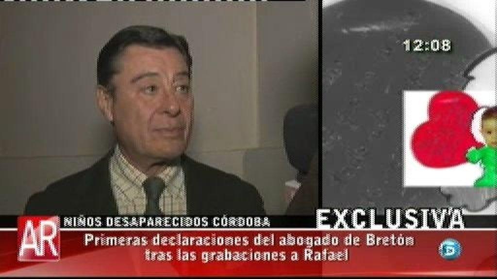 Rafael Bretón lo está pasando muy mal, según el abogado de José Bretón