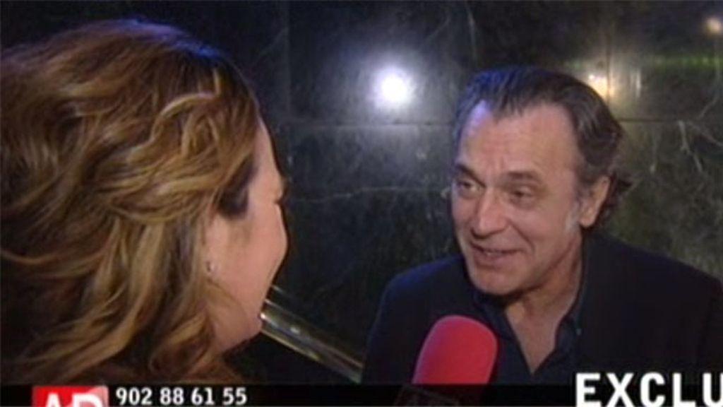 """José Coronado: """"Isabel es buena amiga"""""""
