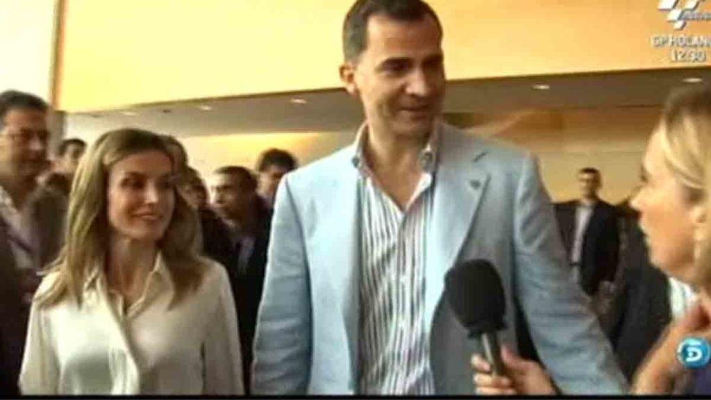 'El programa de Ana Rosa' habla con el príncipe de Asturias