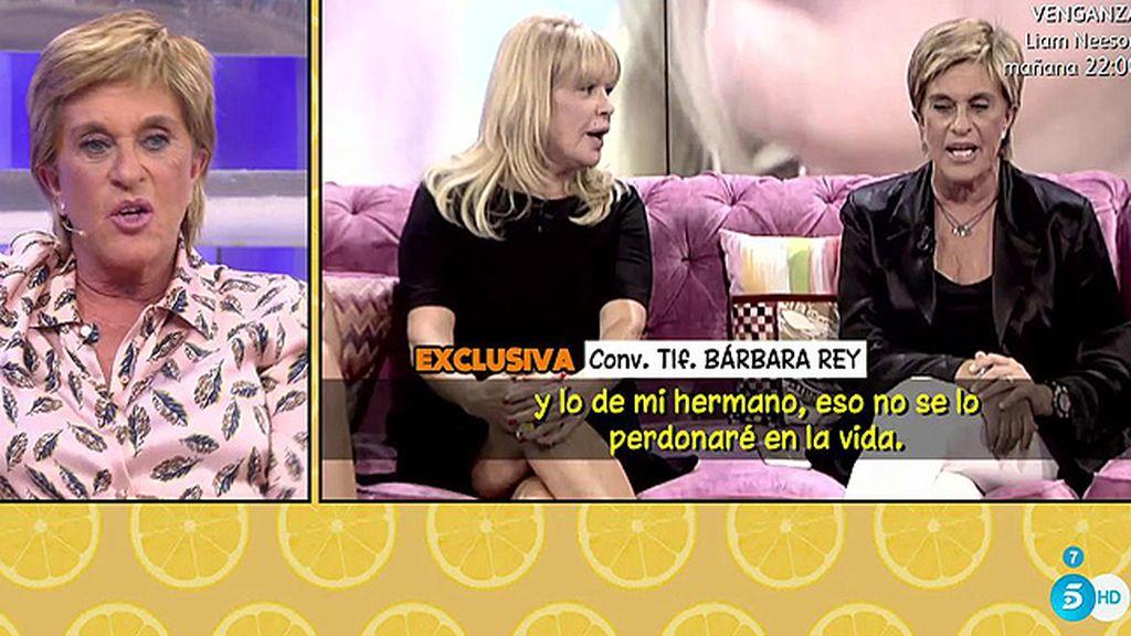 Los siete reproches de Bárbara Rey a Chelo García Cortés