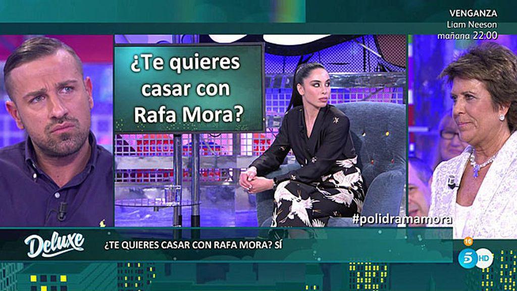 Macarena miente: realmente no quiere casarse con Rafa Mora