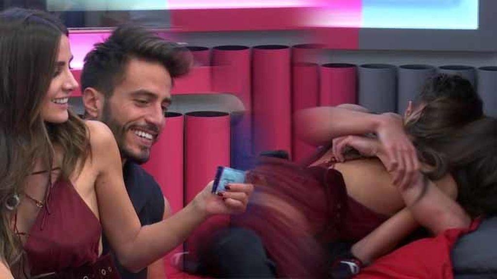 Al final de la noche... ¡Hubo reconciliación entre Marco Ferri y Aylén Milla!