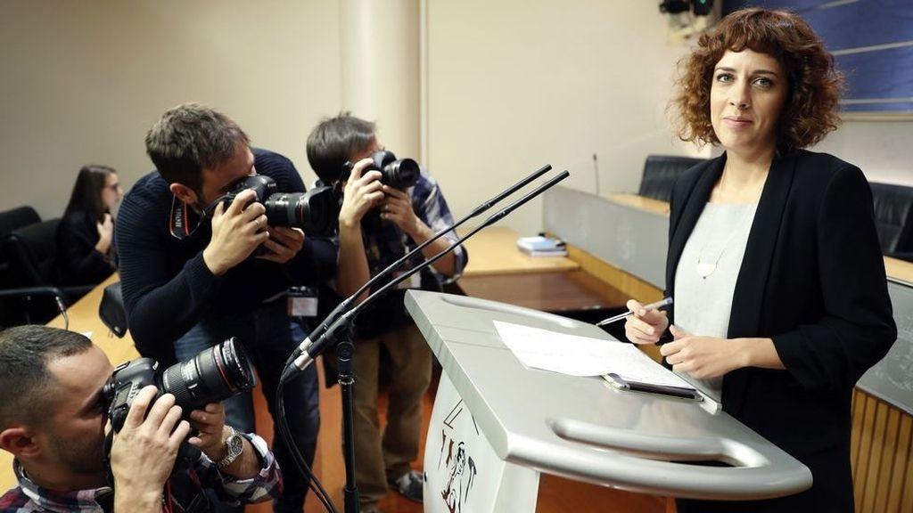 Alexandra Fernández, portavoz de En Marea en el Congreso