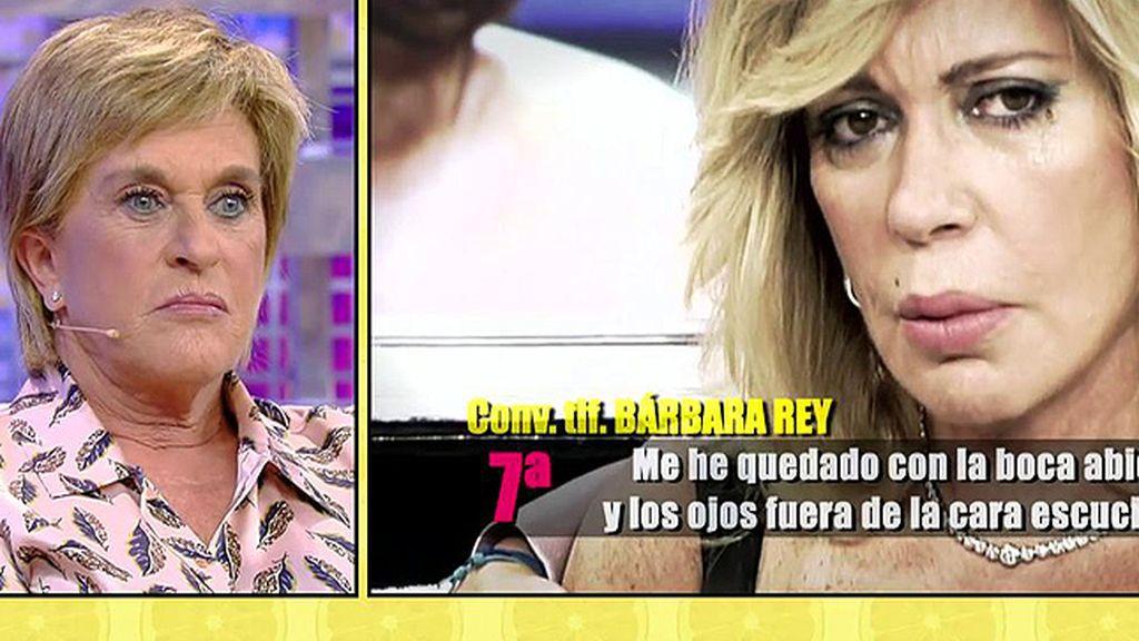 """Chelo Gª Cortes responde a Bárbara Rey: """"No he dicho nada que no haya sido verdad"""""""