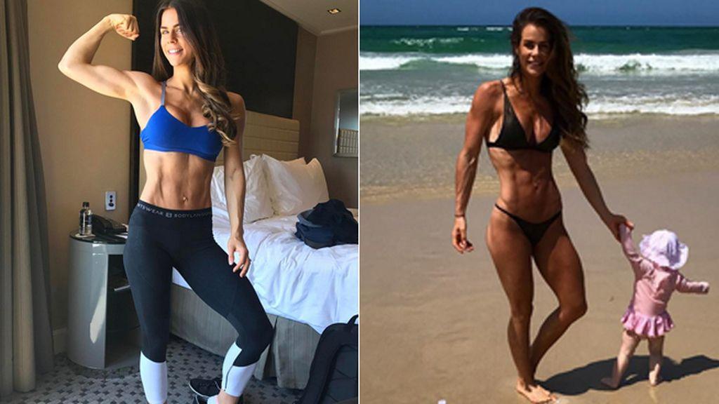 Madre de 4 hijos y modelo fitness, revela su secreto para ser una estrella en Instagram