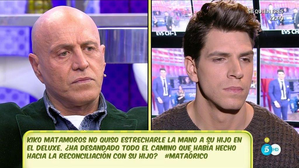 """Matamoros, sobre su no-reencuentro con Diego en el 'Deluxe': """"Si se entendió como un desplante, no fue mi intención"""""""