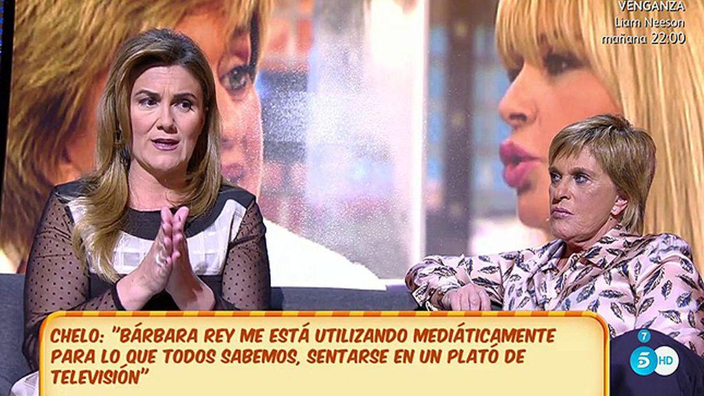 Chelo Gª Cortés desvela al fin por qué se rompió su amistad con Bárbara Rey