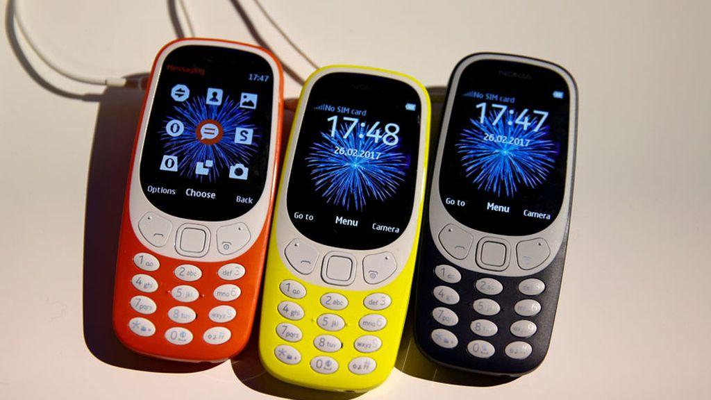 El Nokia 3310 ya es una realidad en el Mobile World Congress de Barcelona