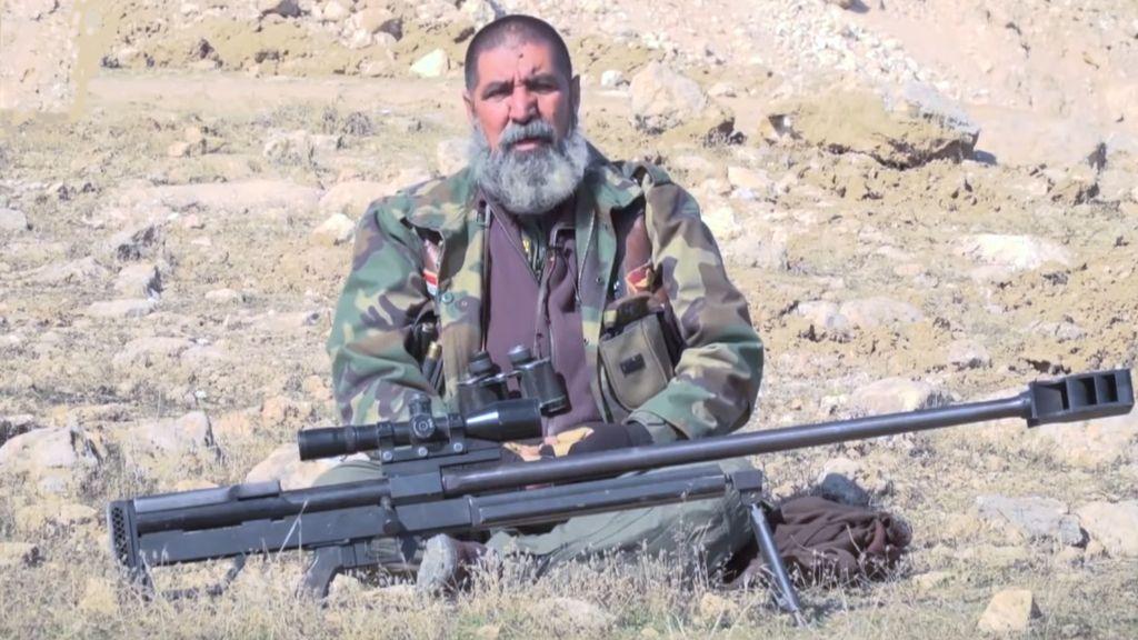 Francotirador que mata a yihadistas