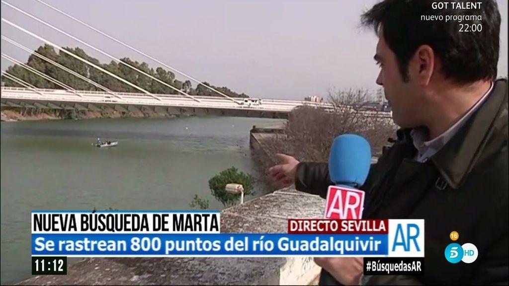 Caso Marta del Castillo: La policía localiza un objeto sospechoso bajo el puente del Alamillo