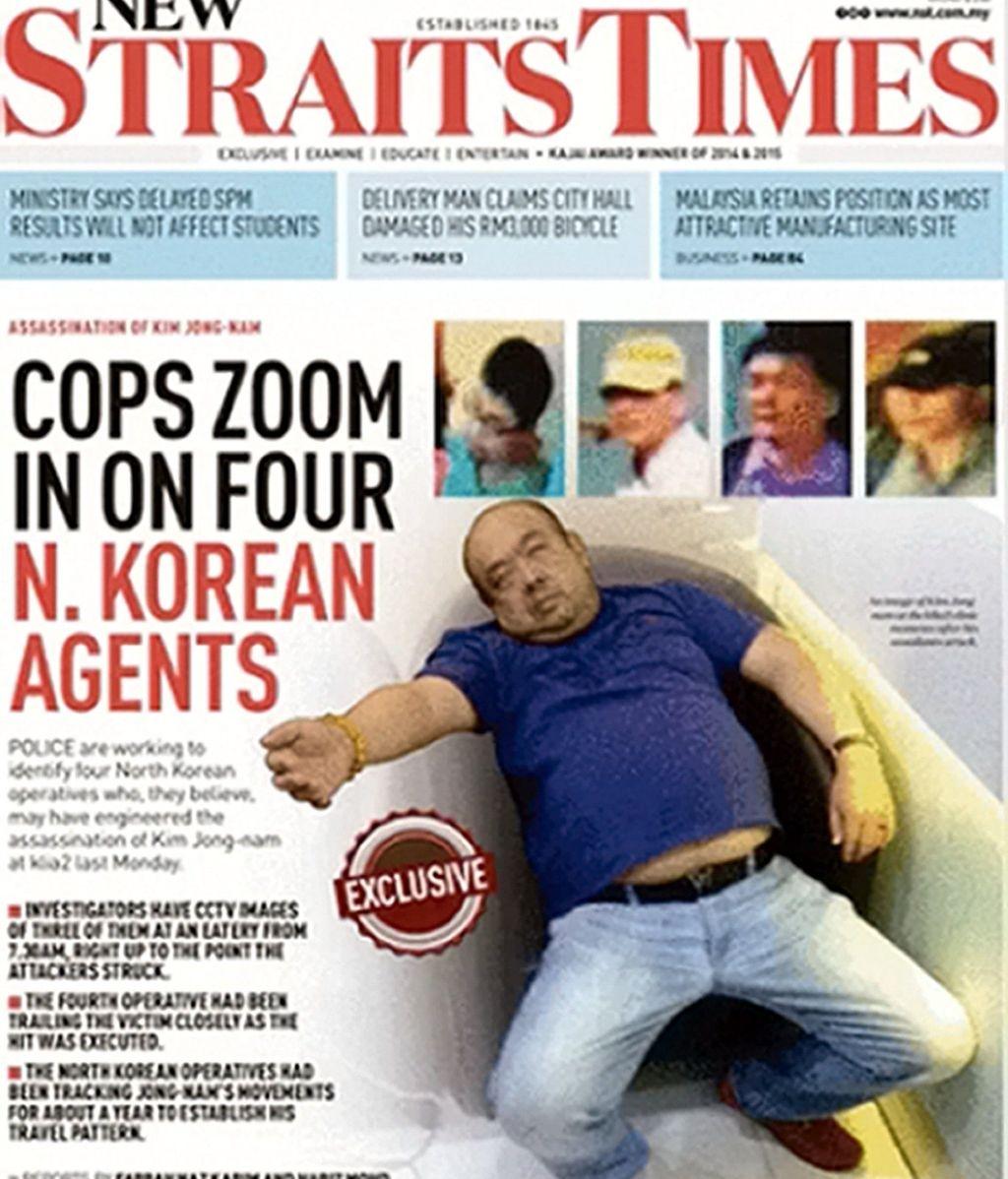 Portada New Straits Times