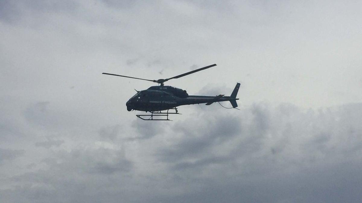 Helicóptero Mossos