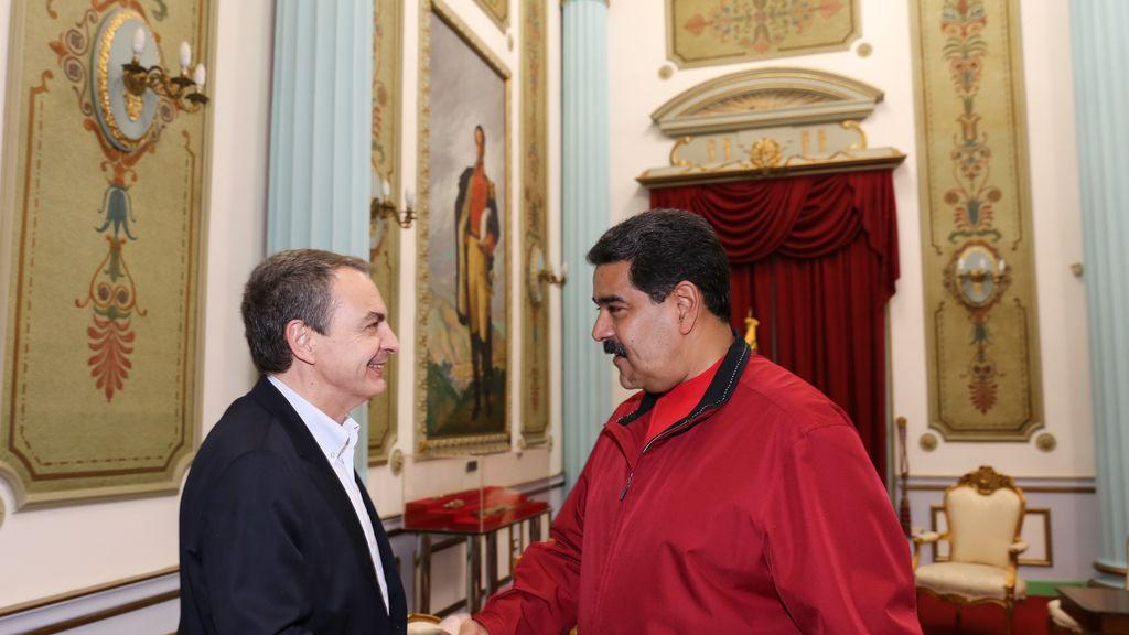 Zapatero, de nuevo en Venezuela para mediar entre Maduro y la oposición